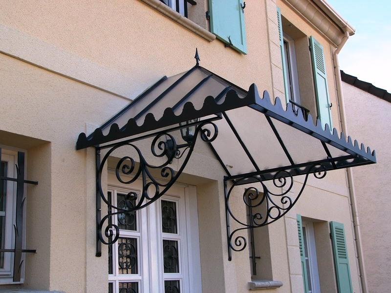 marquise normandie ferronerie artisan ferronnier en normandie et pays d 39 auge. Black Bedroom Furniture Sets. Home Design Ideas